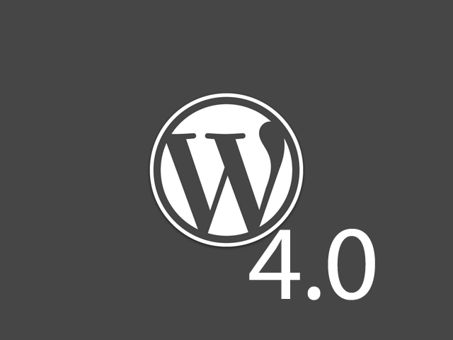 wordpress4.0